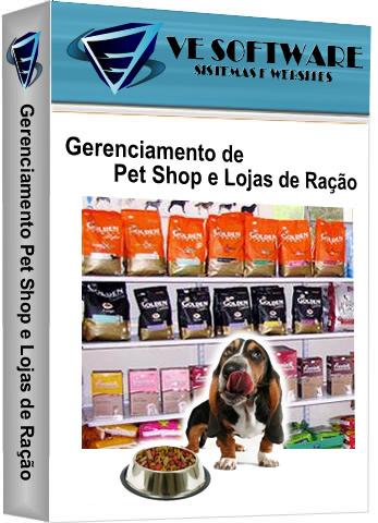 Locação Pet Shops e Loja de Ração -  SISTEMA DESCOMPLICADO
