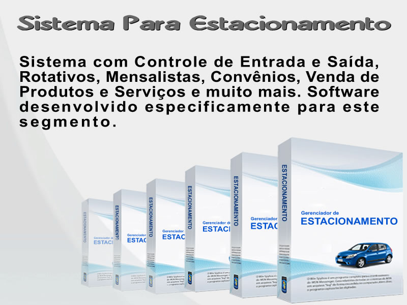 Software para Estacionamentos -  SISTEMA DESCOMPLICADO