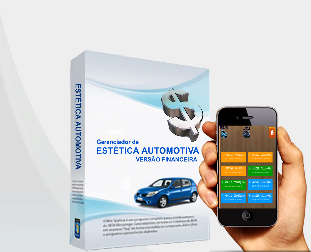 Estética Automotiva + TouchScreen -  SISTEMA DESCOMPLICADO