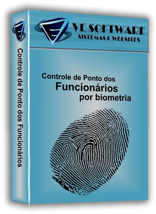 Controle de Ponto Biométrico -  SISTEMA DESCOMPLICADO