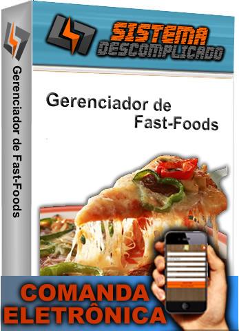 Restaurante Controle por Comanda -  SISTEMA DESCOMPLICADO