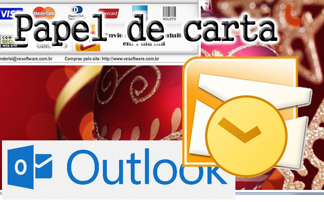 Criar papel de carta para Windows Live Mail 2009 - HTML -  SISTEMA DESCOMPLICADO