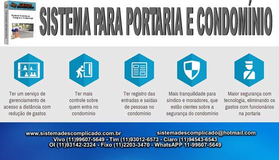 Software Portaria e Condomínio -  SISTEMA DESCOMPLICADO