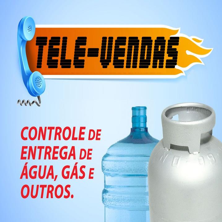 Tele-Vendas Agua e Gás -  SISTEMA DESCOMPLICADO